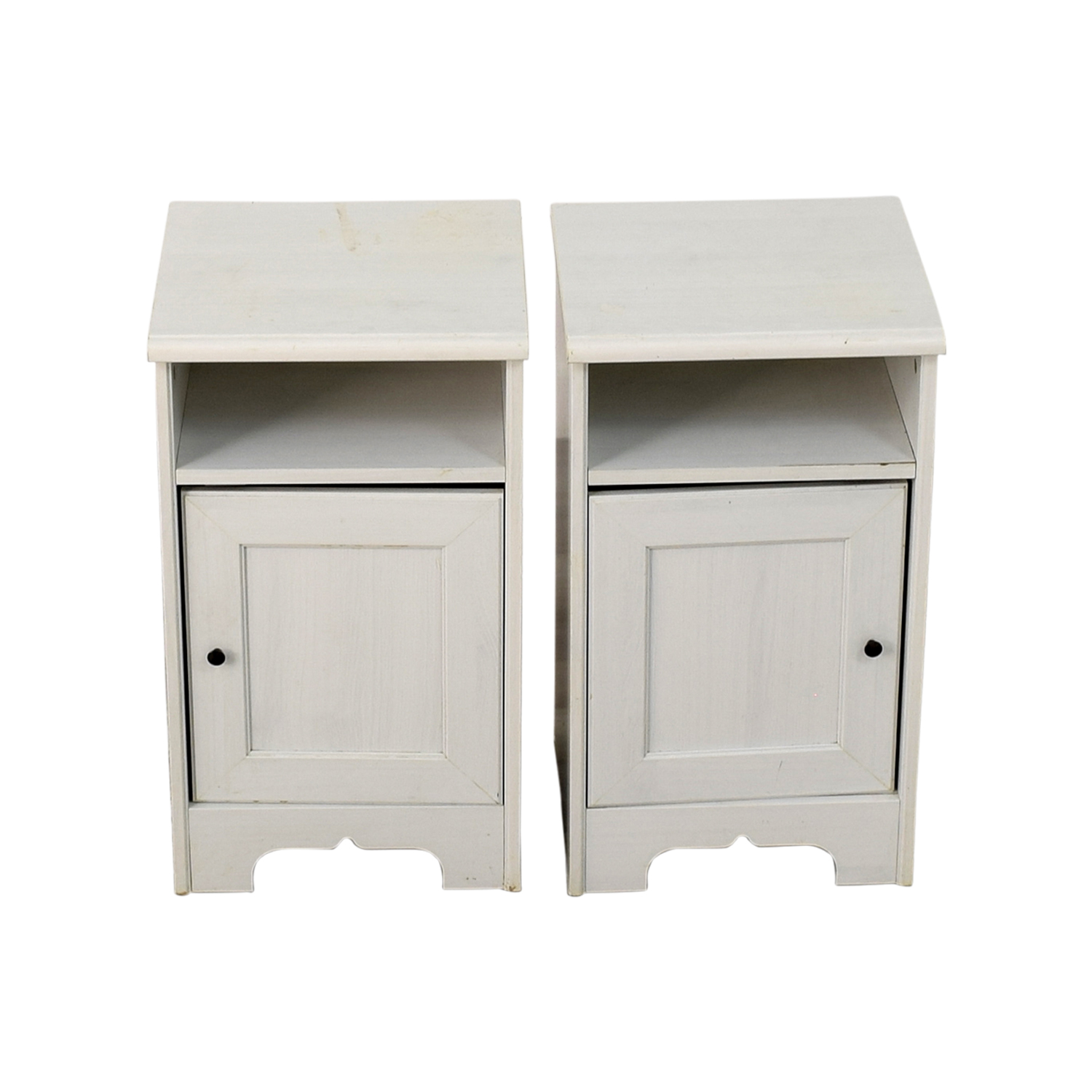IKEA IKEA Hemnes White Side Cabinets used