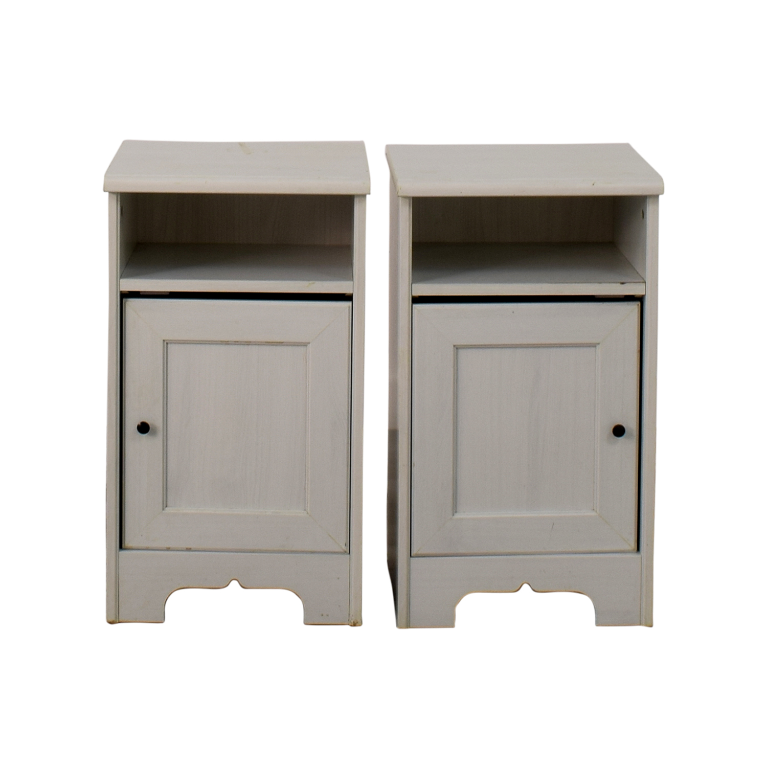 IKEA IKEA Hemnes White Side Cabinets coupon