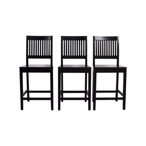 Crate & Barrel Crate & Barrel Counter Height Dining Chairs coupon