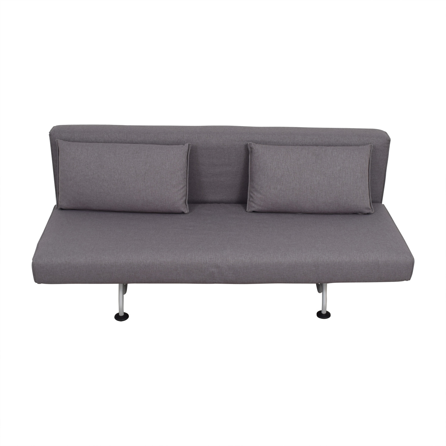 shop Design Within Reach Grey Sliding Sofa Bed Design Within Reach