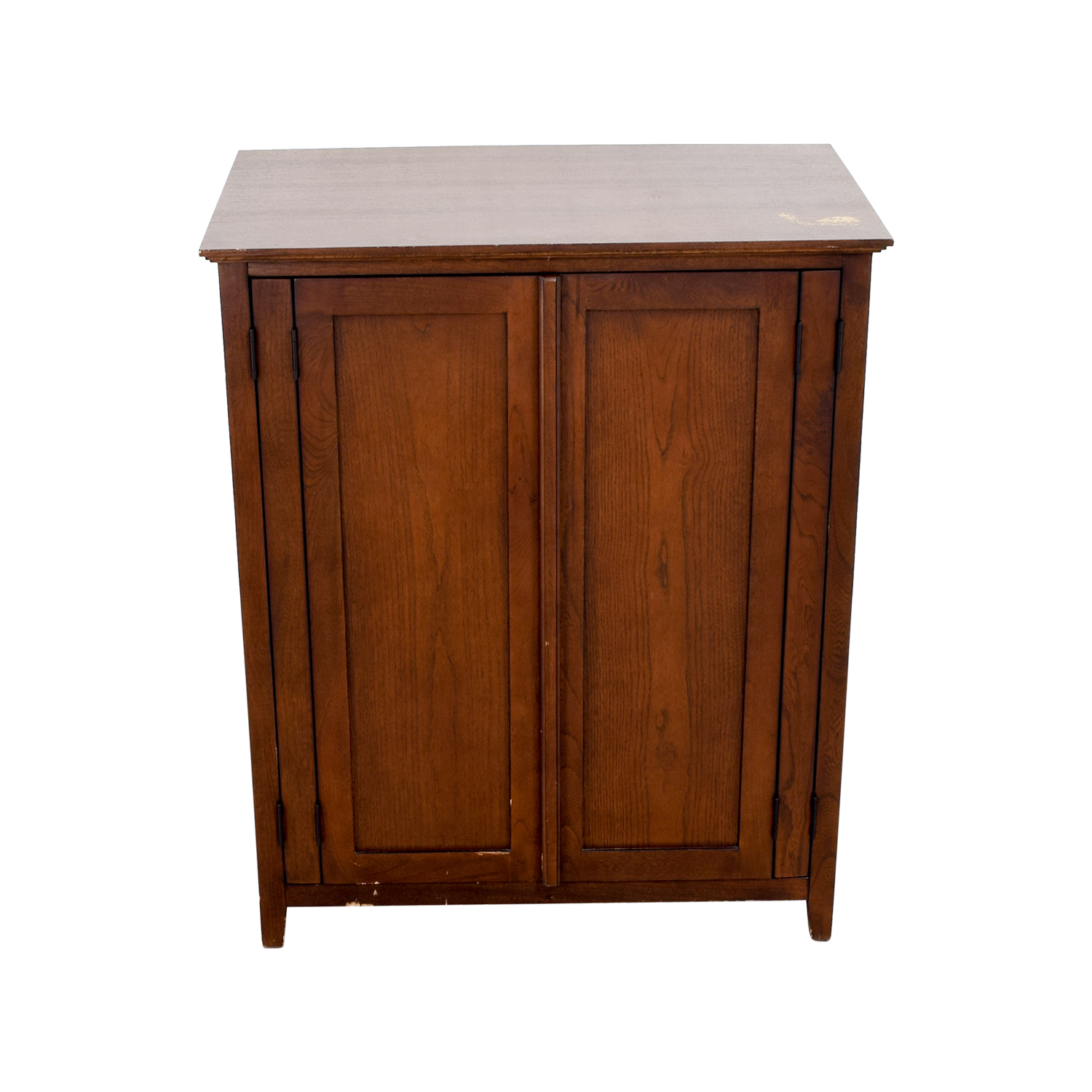 Dark Wood TV or Clothing Armoire