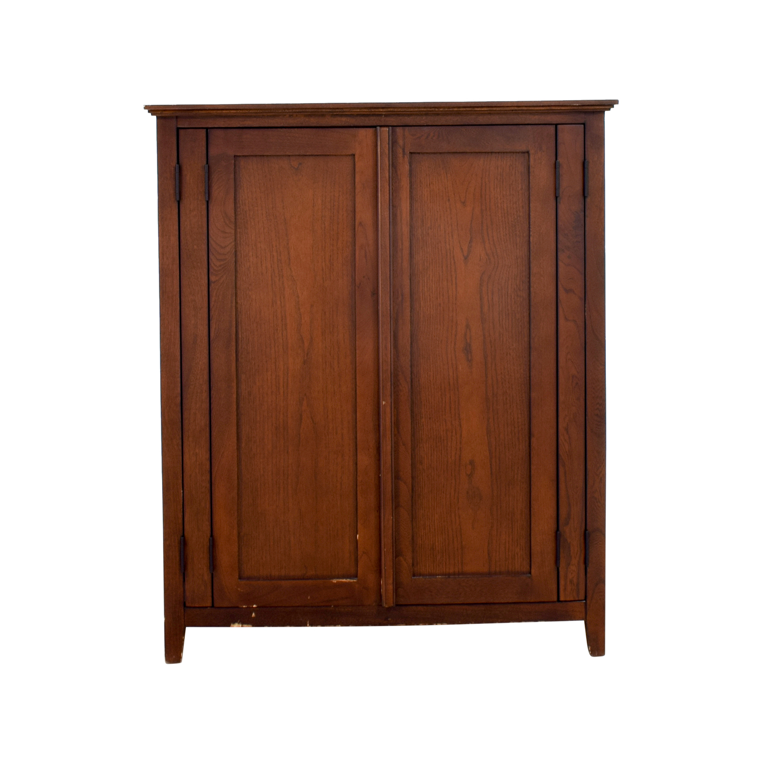 Dark Wood TV or Clothing Armoire discount