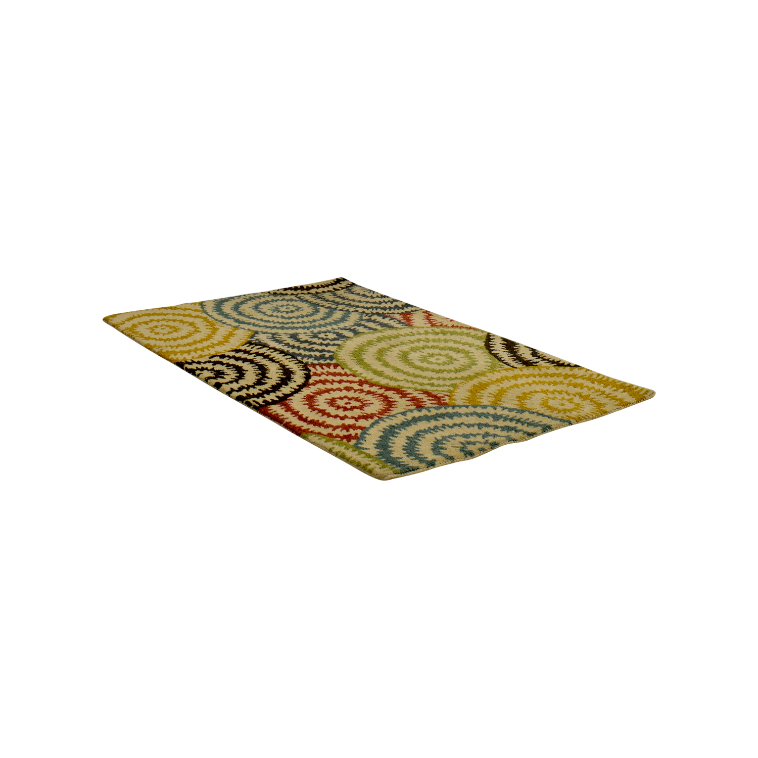Crate & Barrel Crate & Barrel Pinwheel Rug second hand