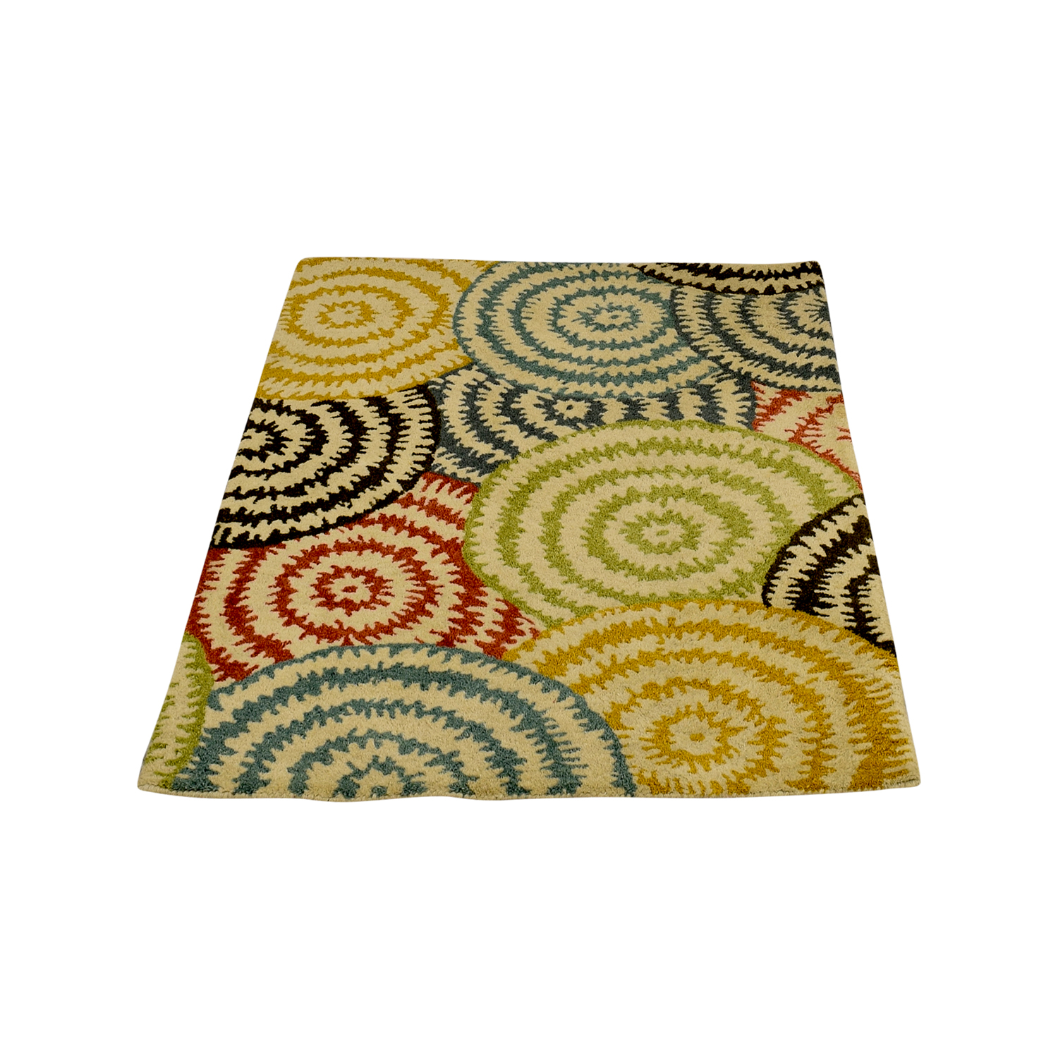 Crate & Barrel Crate & Barrel Pinwheel Rug price