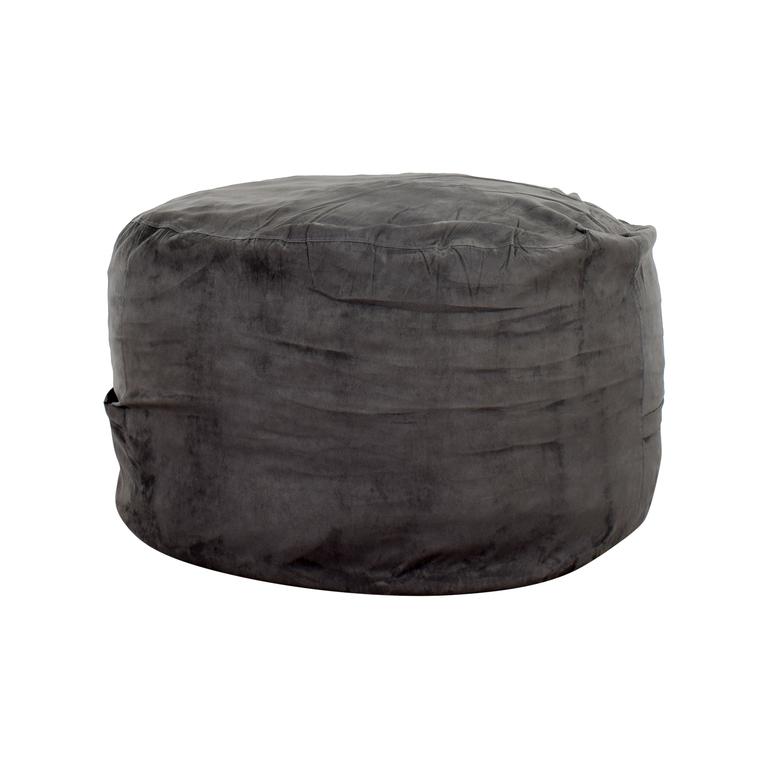 buy ChillSack Chill Sack Grey Bean Bag Chair online