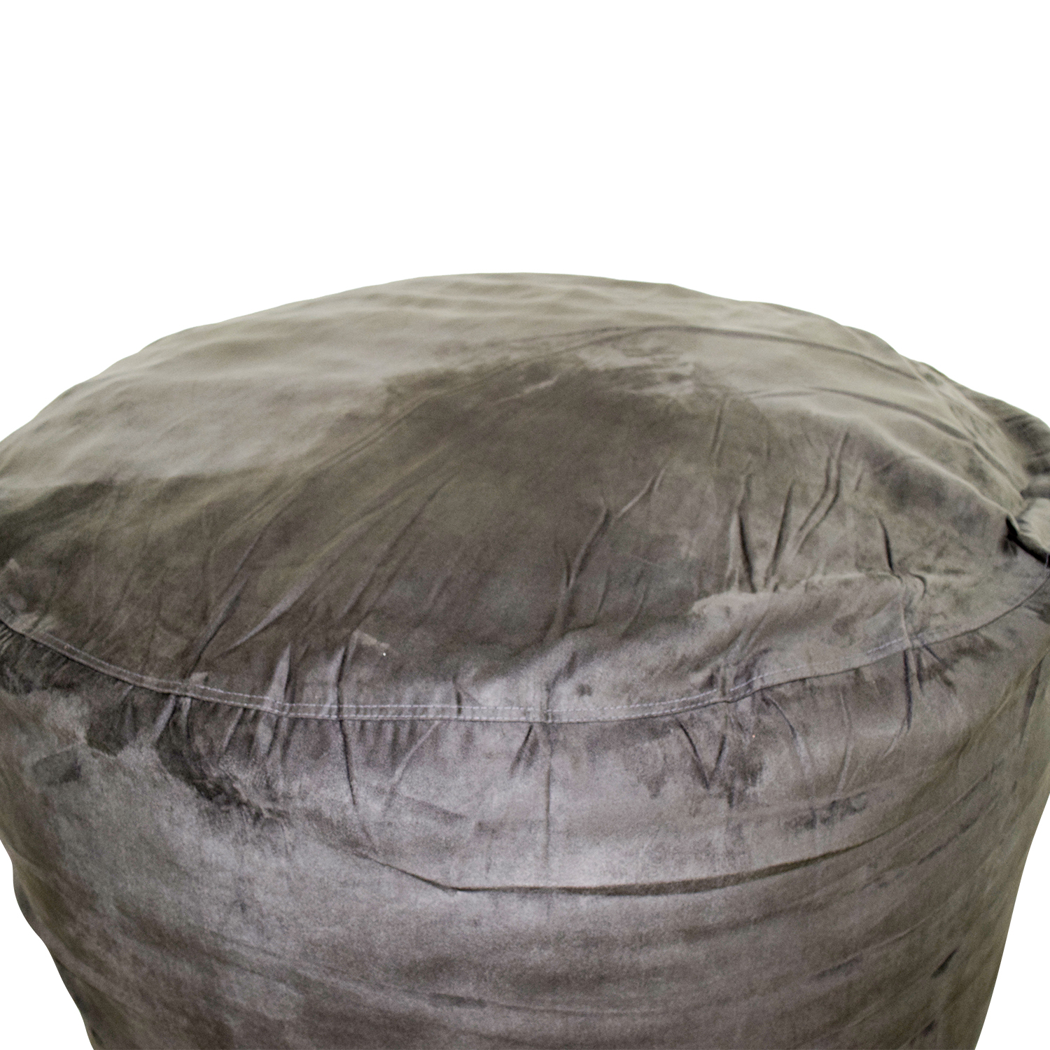 ... Chill Sack Chill Sack Grey Bean Bag Chair Nj