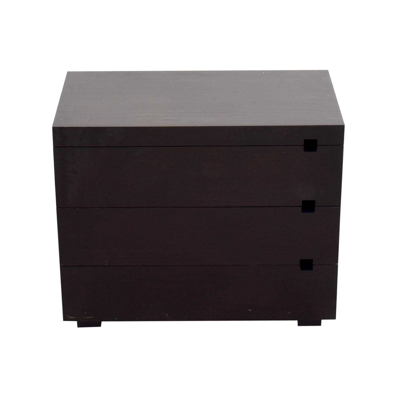 shop West Elm West Elm Black Wooden Dresser online