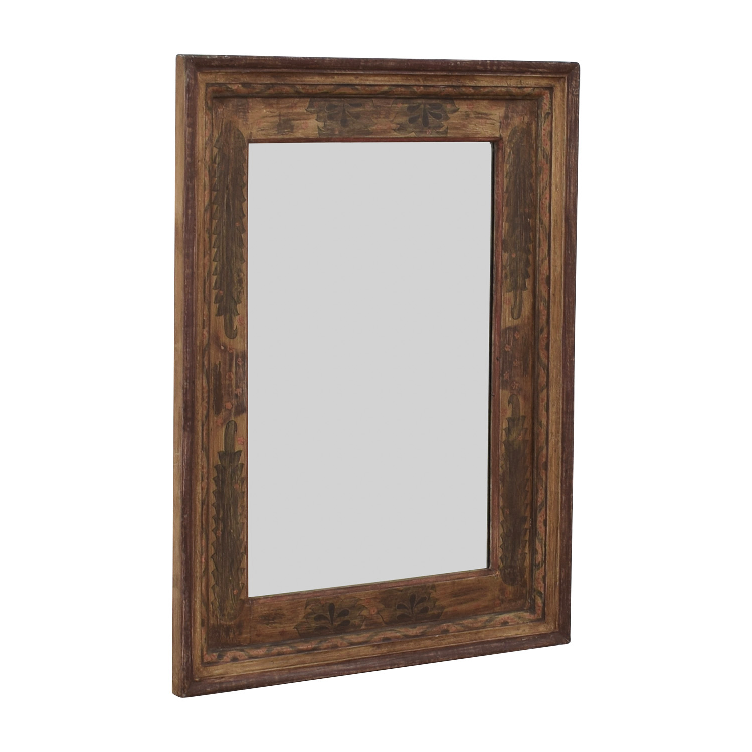 Pottery Barn Pottery Barn Painted Wooden Mirror