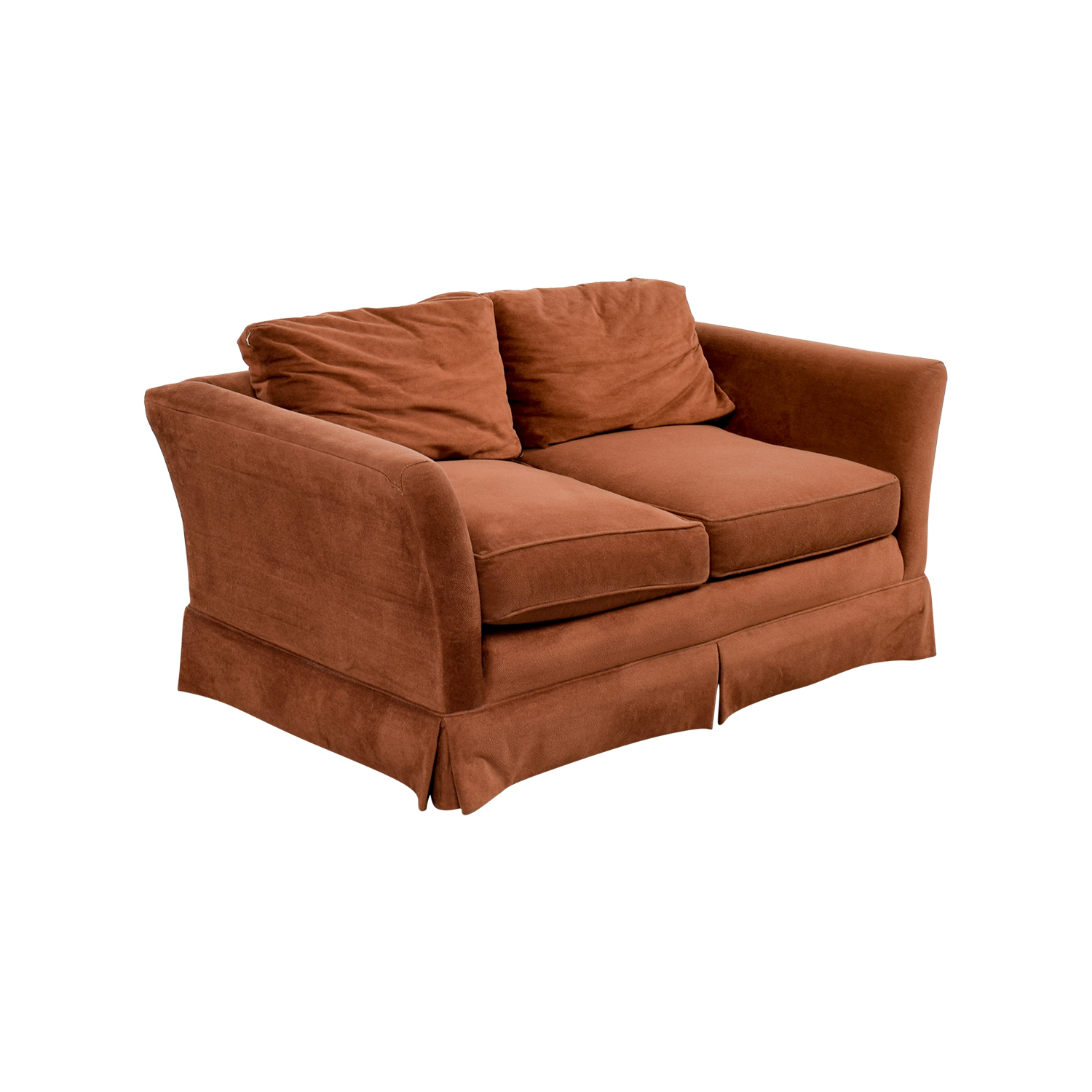 58% OFF Macys Macy s Small Brown Loveseat Sofas