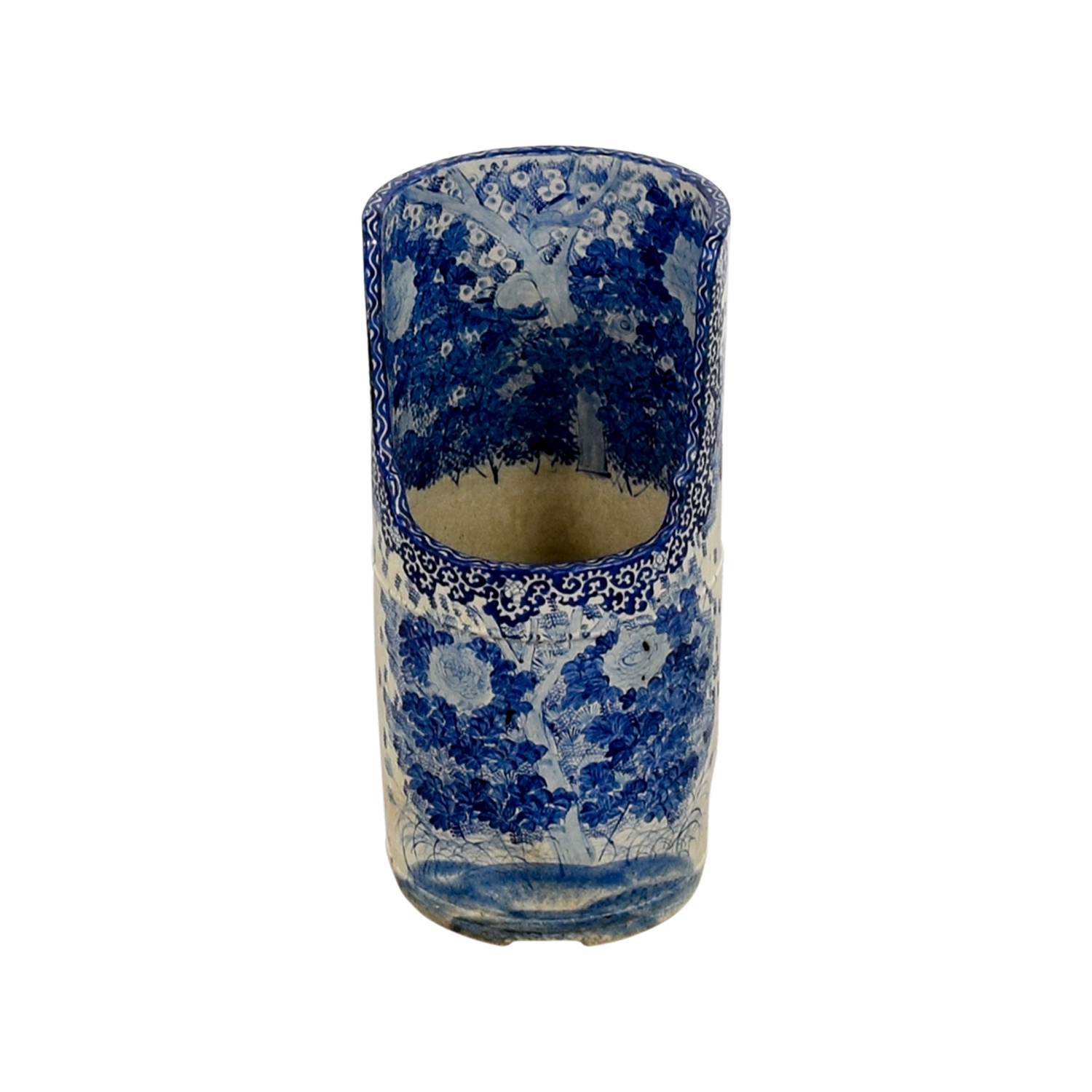 Antique Blue Umbrella Stand price