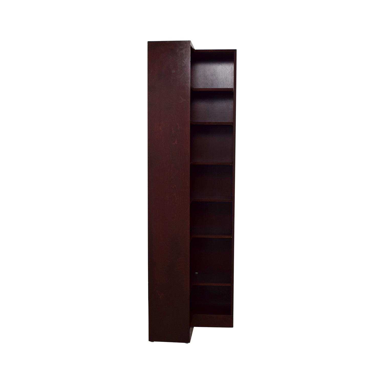 buy Hale Wood Double Corner Bookshelf Hale Bookcases & Shelving