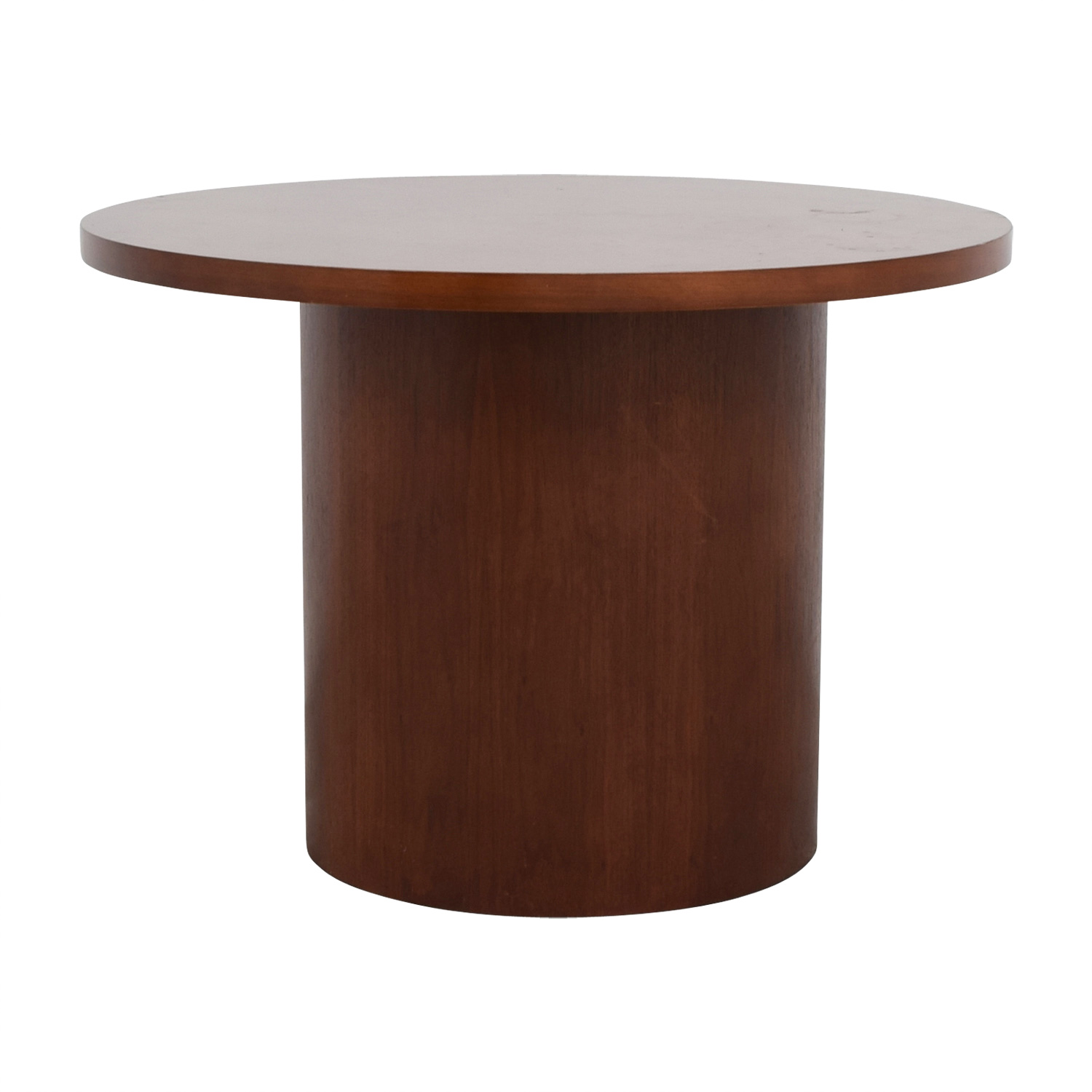 shop Round Wood Pedestal Table online