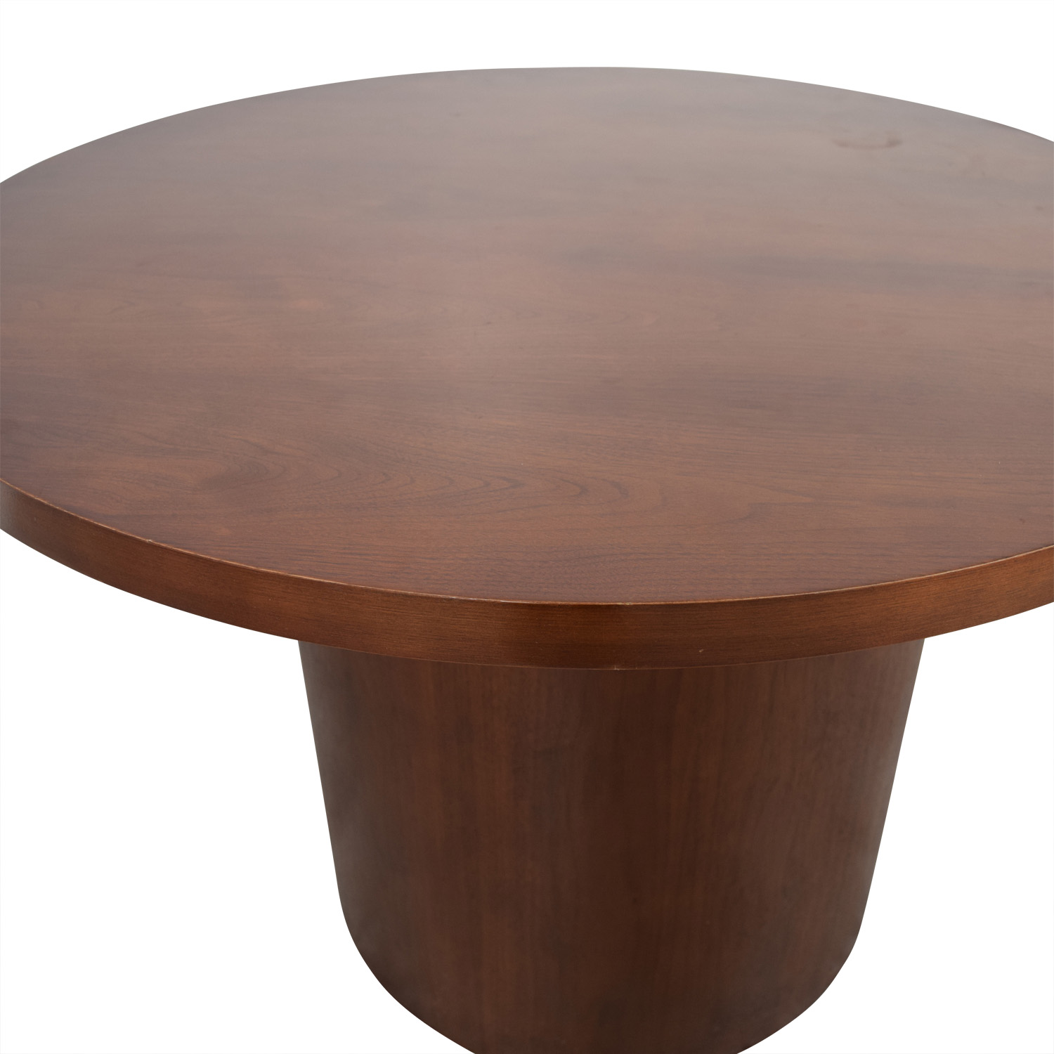 ... Shop Round Wood Pedestal Table ...