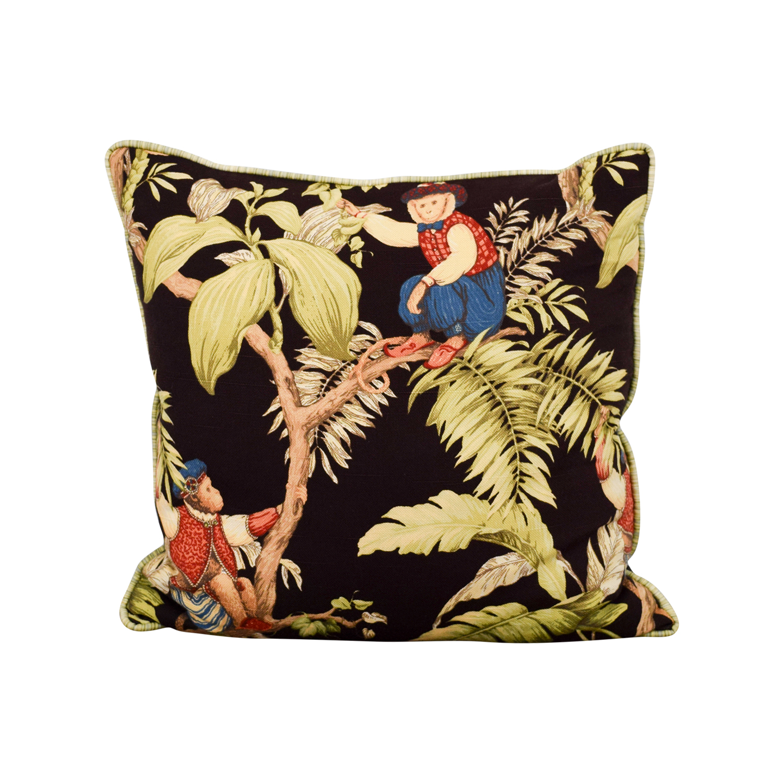 London London Monkey Pillow Decor