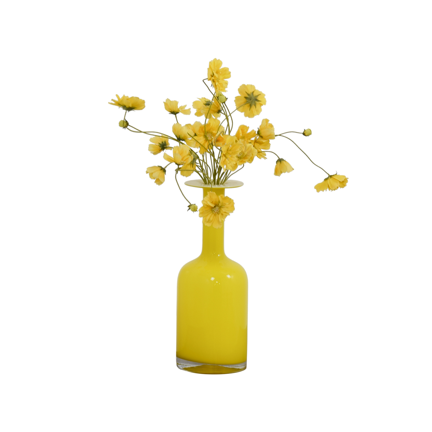 buy West Elm Yellow Vase West Elm Decor