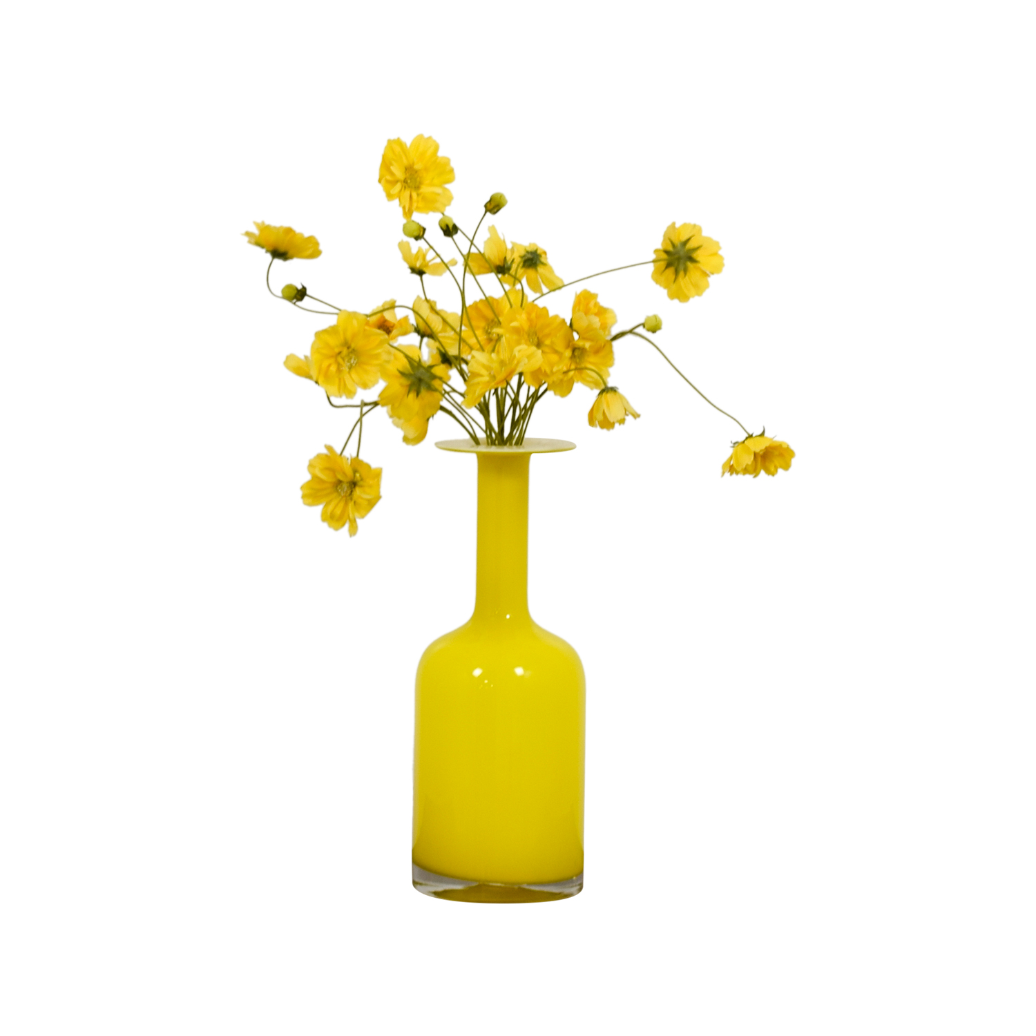 shop West Elm Yellow Vase West Elm