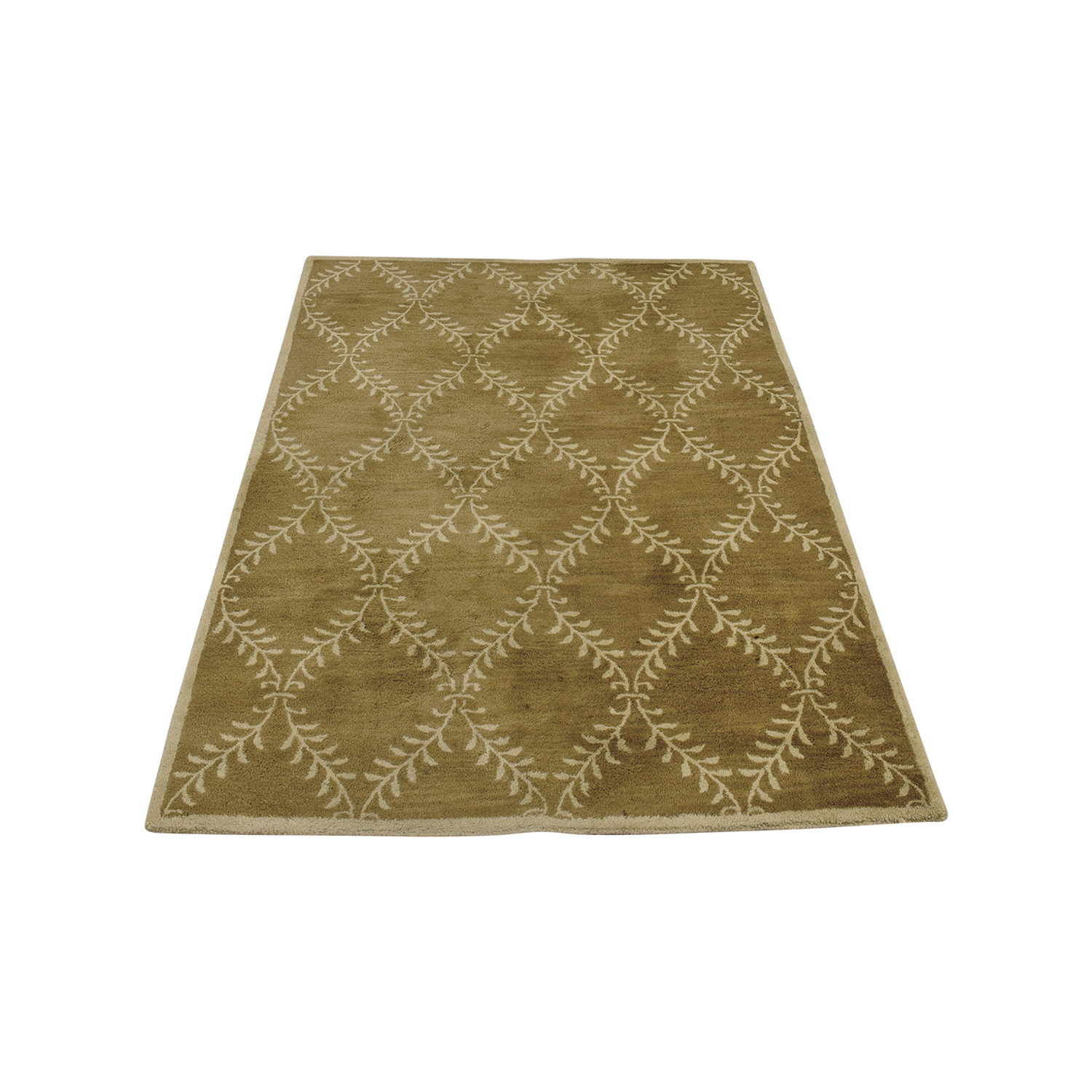 Pottery Barn Pottery Barn Beige Lattice Rug