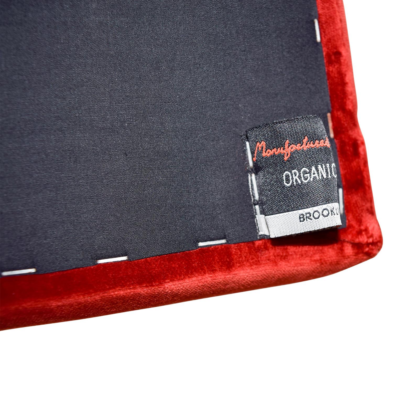 Organic Modernism Organic Modernism Mid-century Modern Red Loveseat coupon
