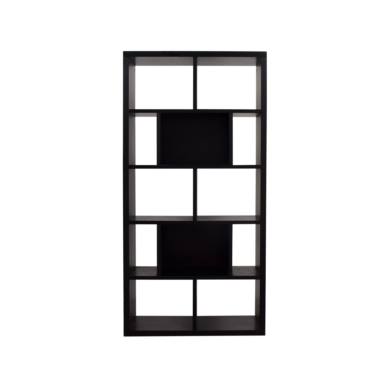 Wood Lateral or Vertical Bookshelf Storage