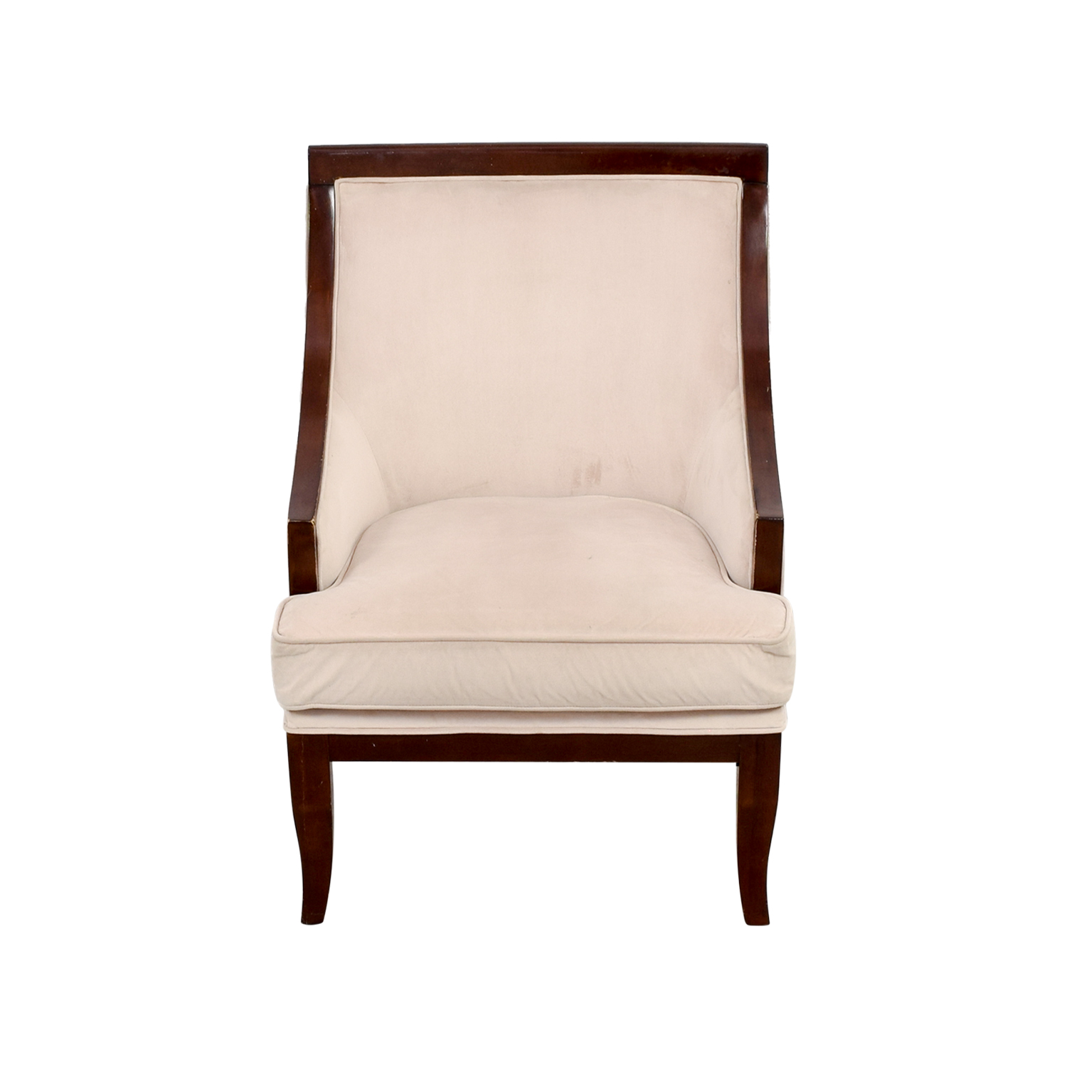... Buy Cream Armed Accent Chair Online ...