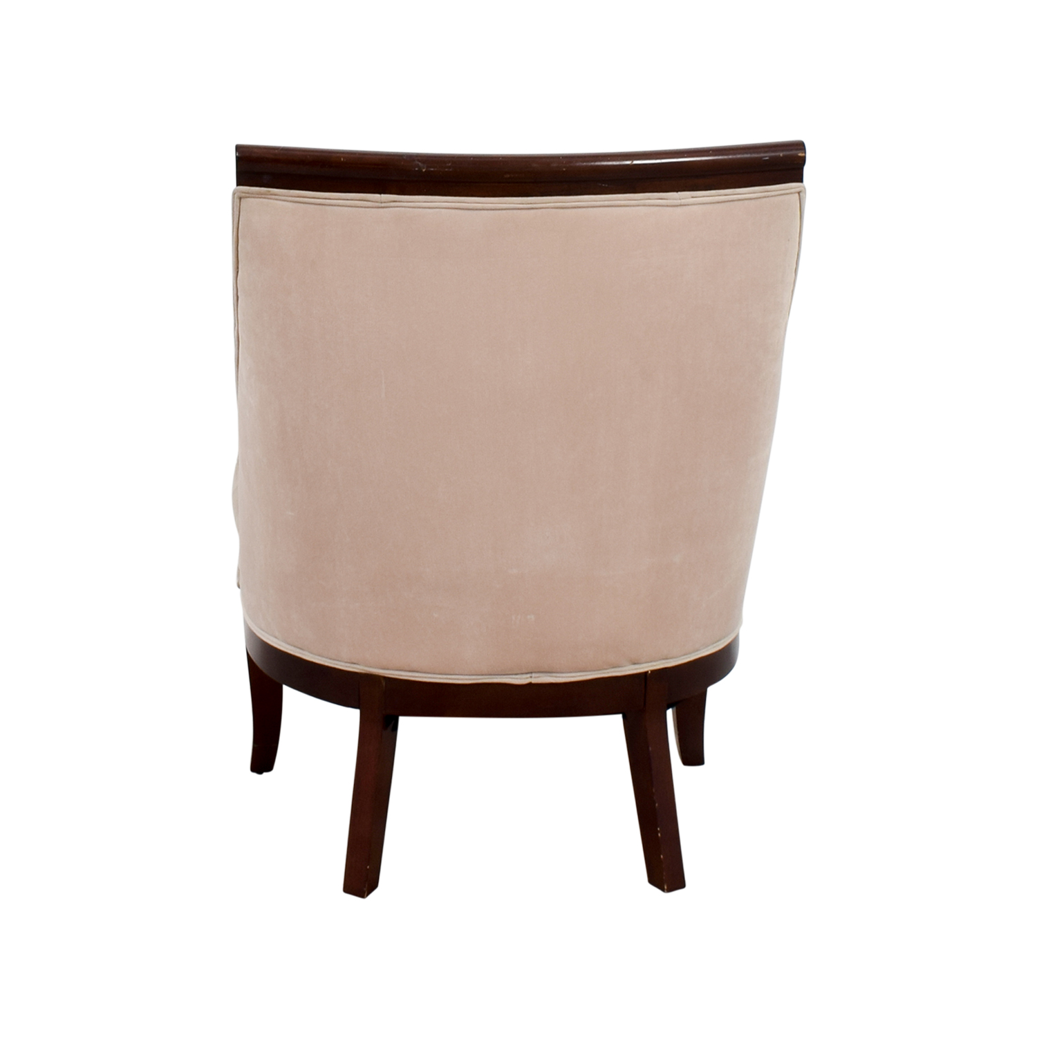 Cream Armed Accent Chair for sale