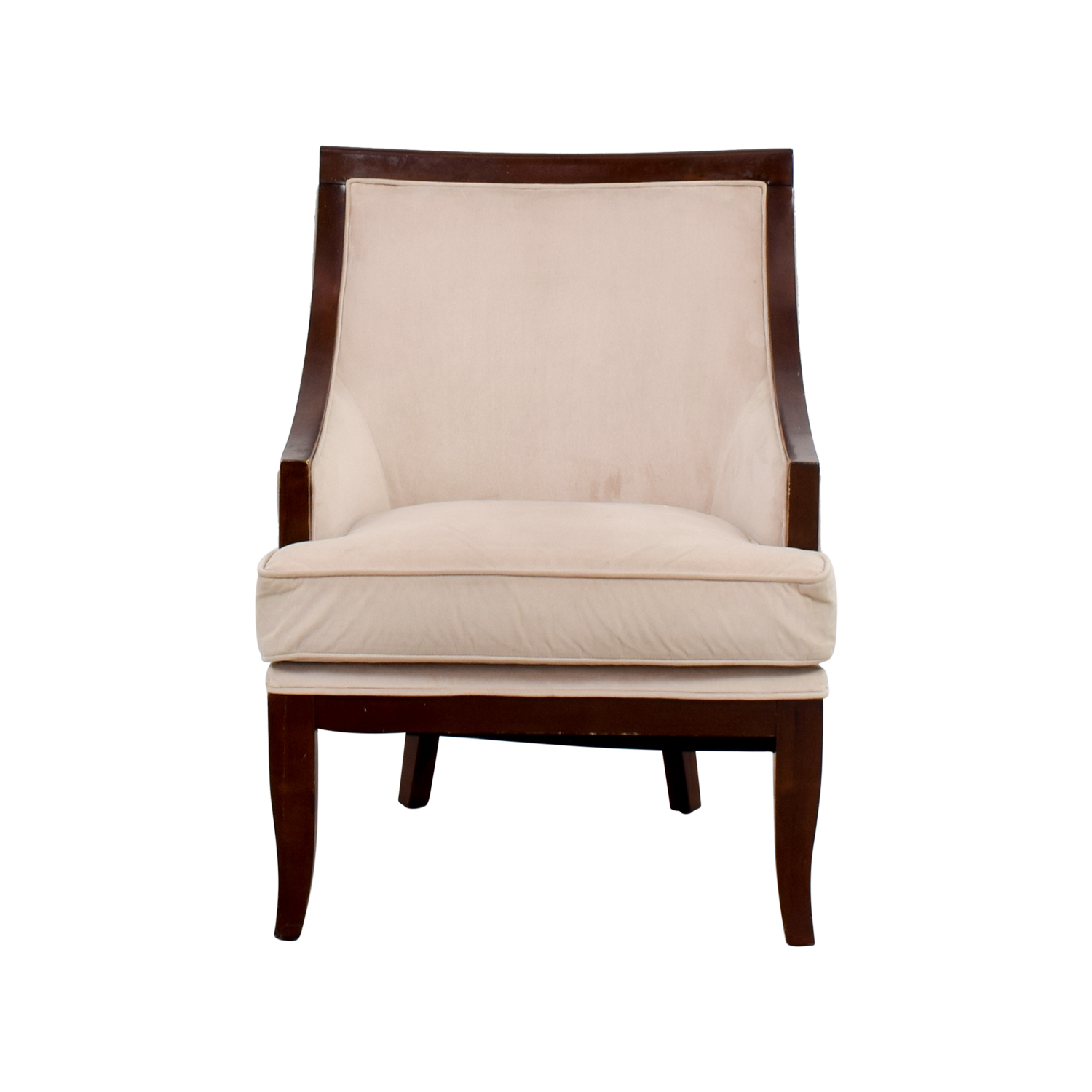 Cream Armed Accent Chair second hand