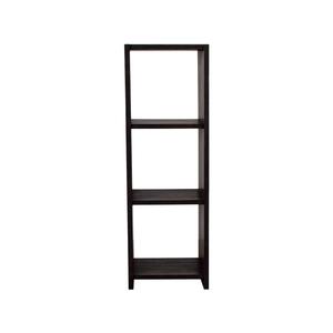 Seville Classics 4-Tier Folding Bookcase Shelf sale
