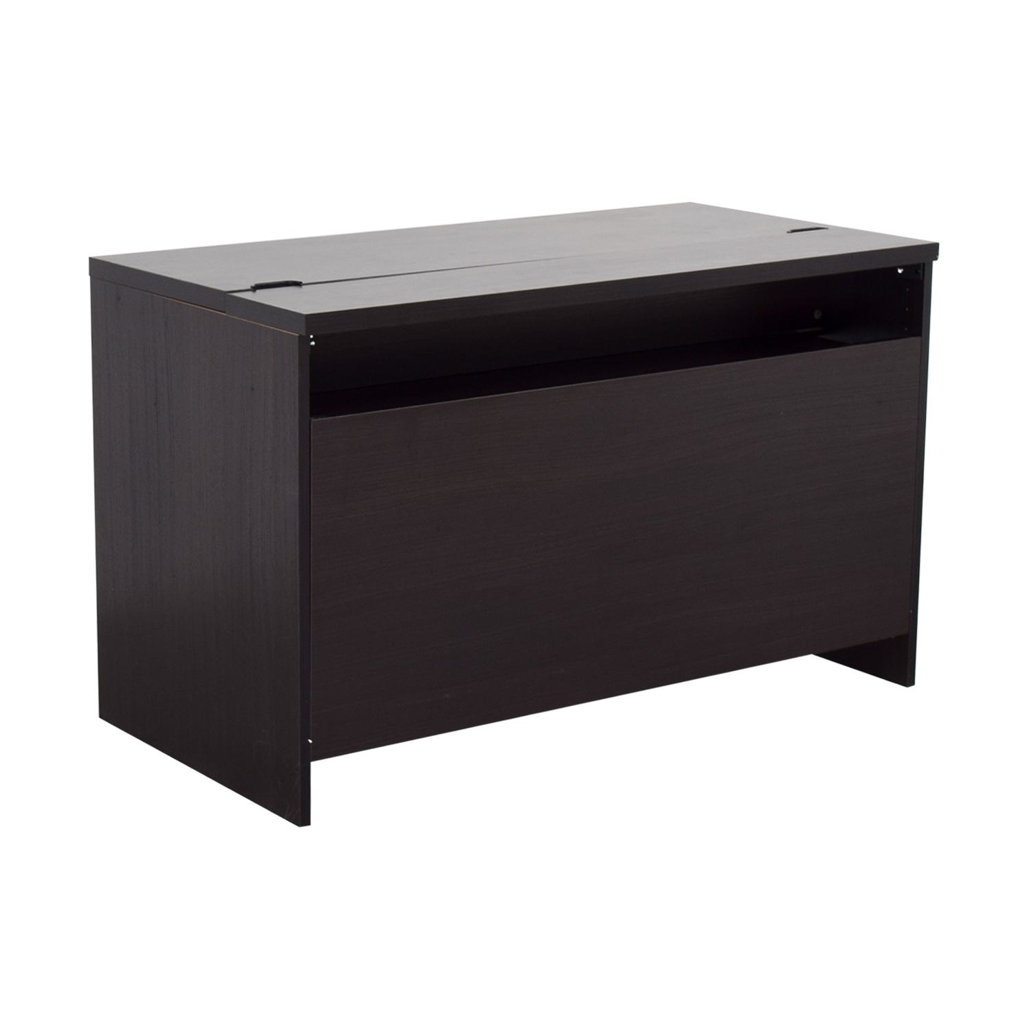 83 off ikea ikea black office desk tables. Black Bedroom Furniture Sets. Home Design Ideas