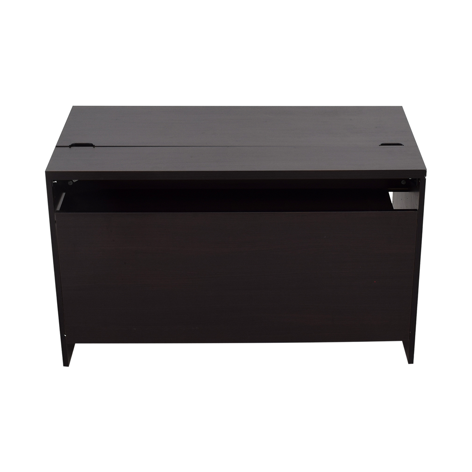 chair small doors desk office leather glass credenza with desks countertop black cute