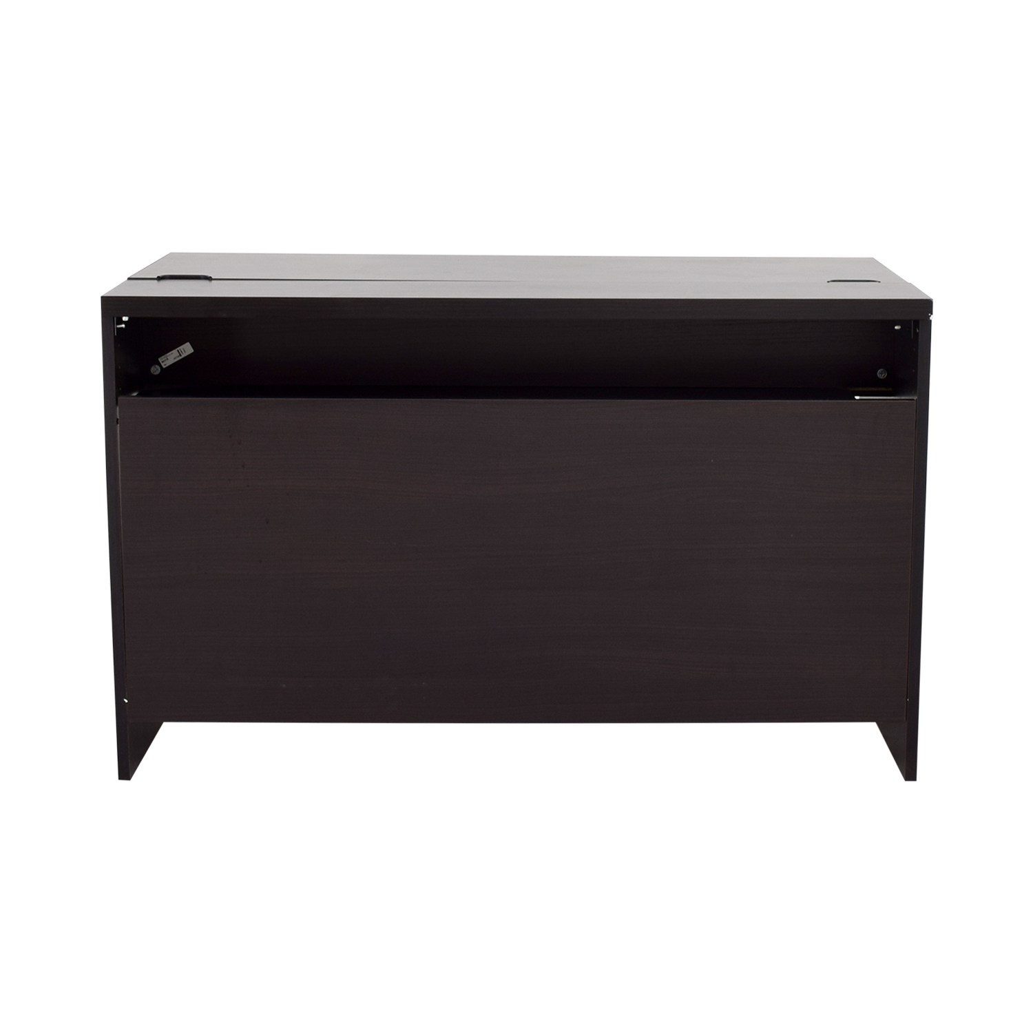 Ikea desk black hostgarcia for Ikea desk black