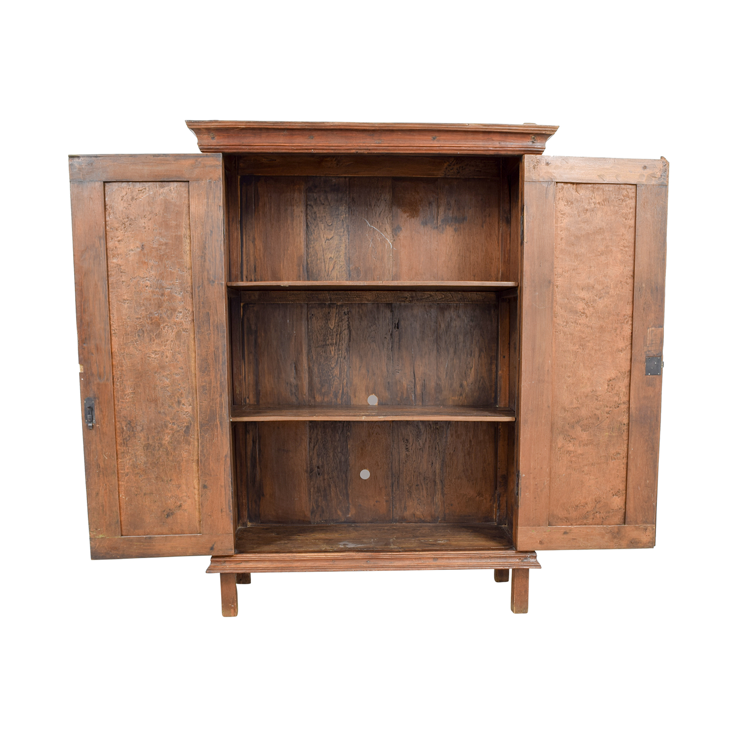 ... Shop ABC Furniture And Home ABC Furniture And Home Indonesian Teak  Armoire Cabinet Online ...