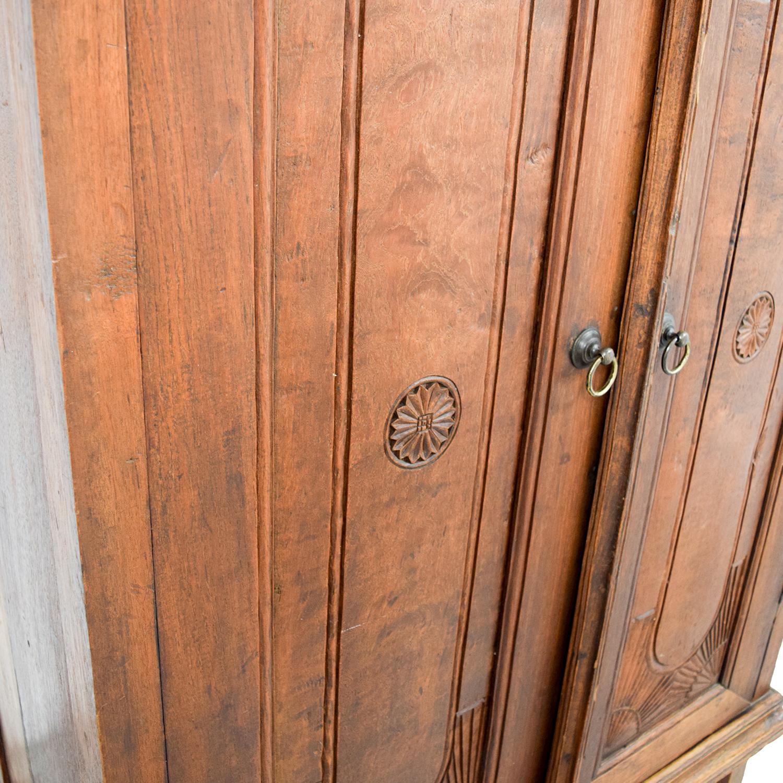 ... ABC Furniture And Home ABC Furniture And Home Indonesian Teak Armoire  Cabinet Price