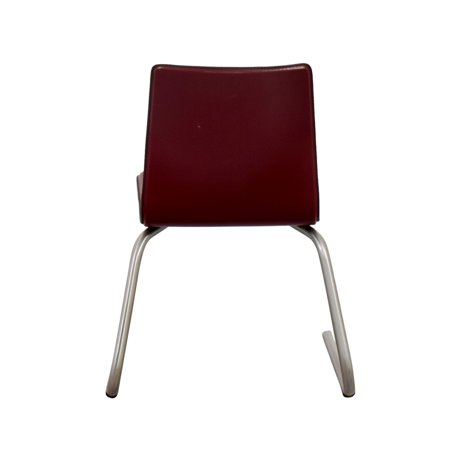 buy Frighetto Industries Modern Red Faux Leather Chair Frighetto Industries Chairs