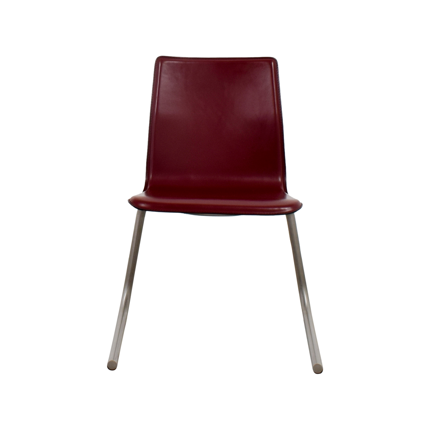 buy Frighetto Industries Frighetto Industries Modern Red Faux Leather Chair online