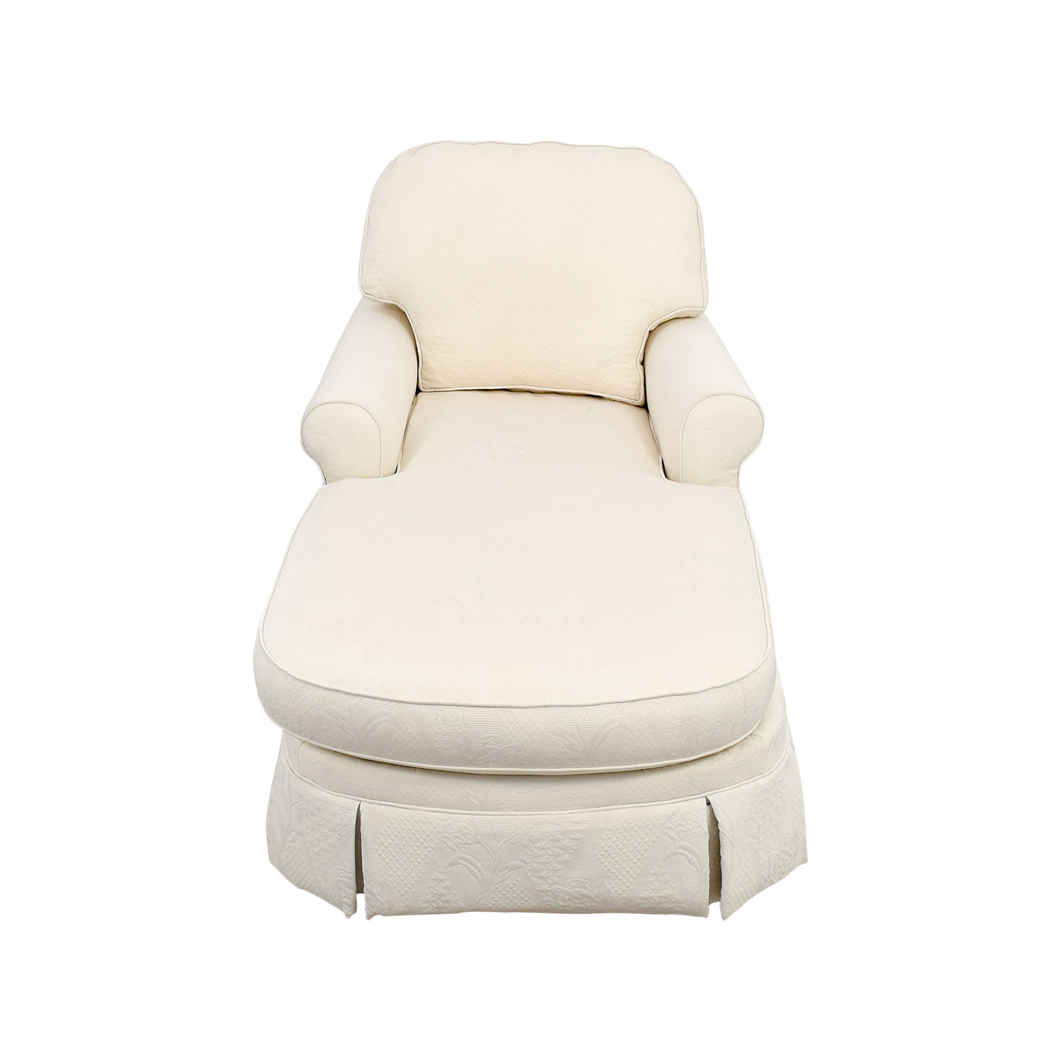 Ethan Allen Ethan Allen Victoria White Chaise Lounge coupon