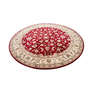 Red Round Rug second hand