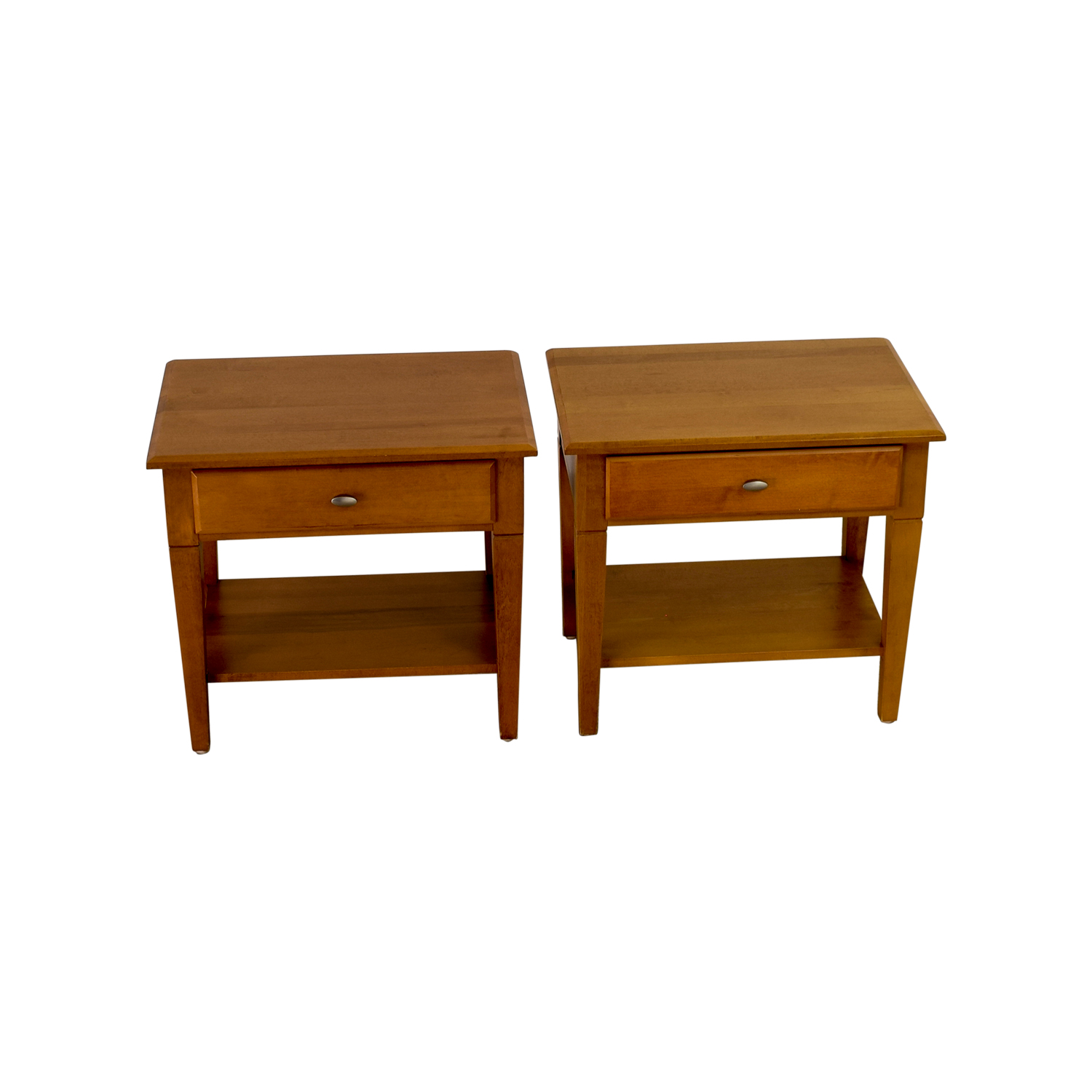 Ethan Allen Ethan Allen Single Drawer End Tables discount