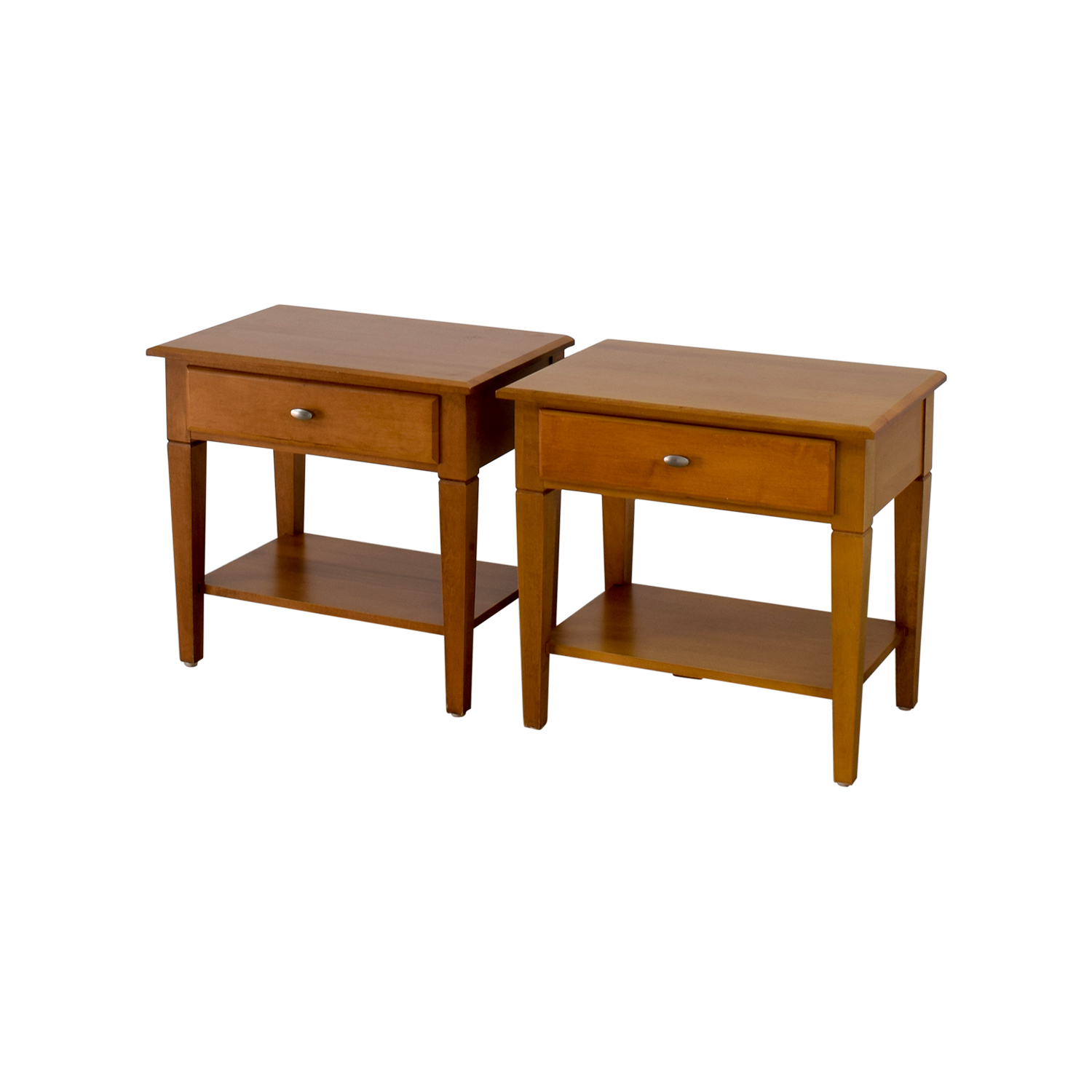 56 OFF Ethan Allen Ethan Allen Single Drawer End Tables  : second hand ethan allen single drawer end tables from furnishare.com size 1500 x 1500 jpeg 407kB