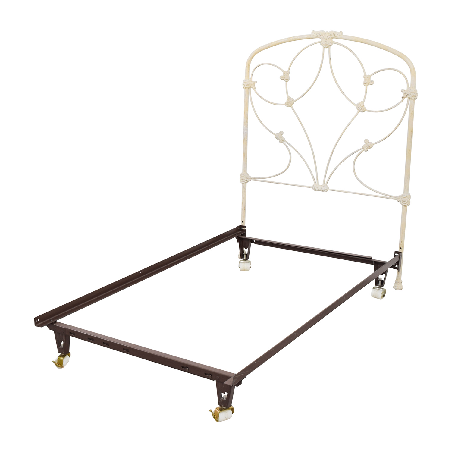 Fresh Twin Metal Bed Frame Painting