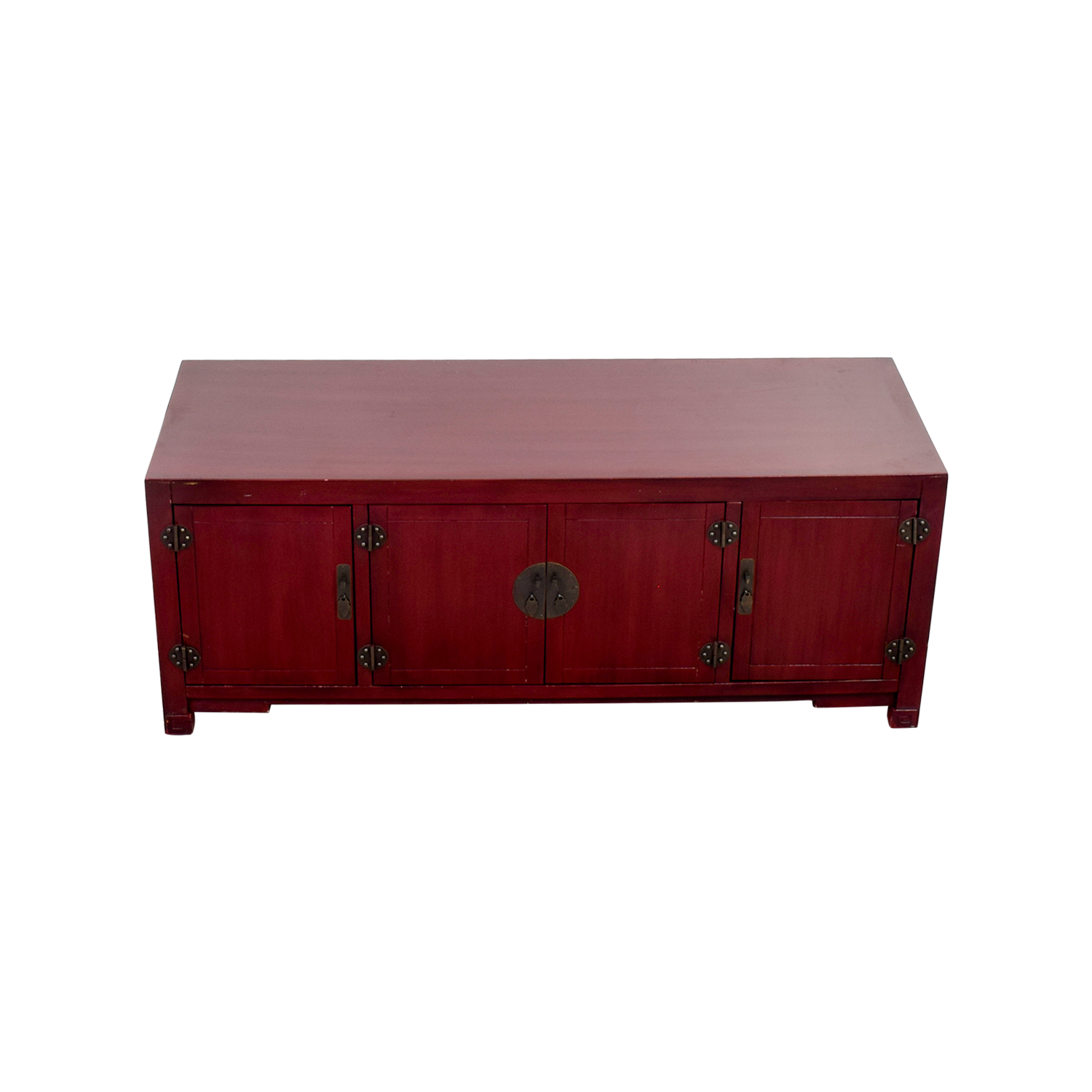 Pier 1 Mei Antique Red Tv Stand Dimensions