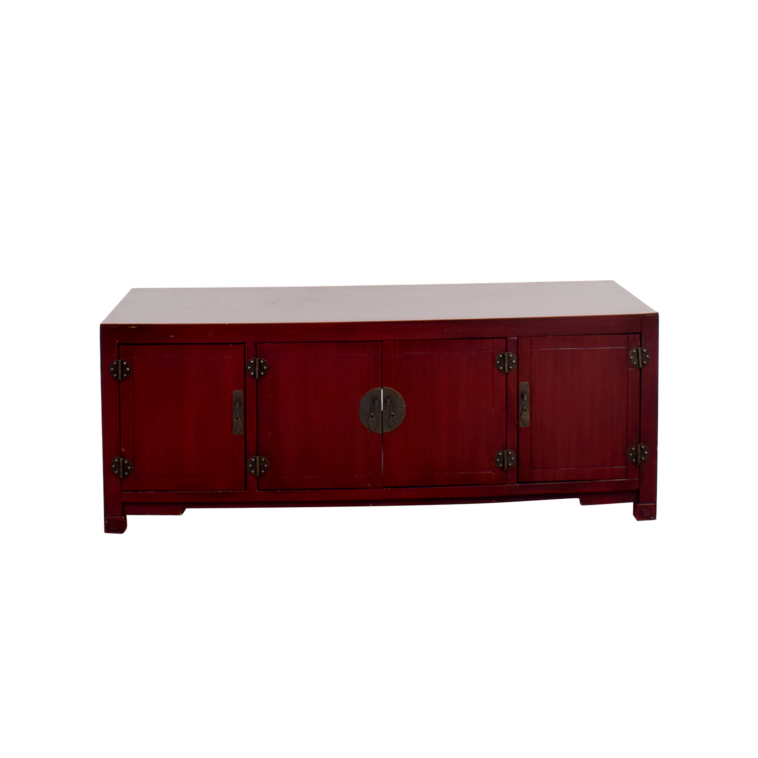 OFF Pier Pier Mei Antique Red TV Stand Storage - Pier 1 tv console table
