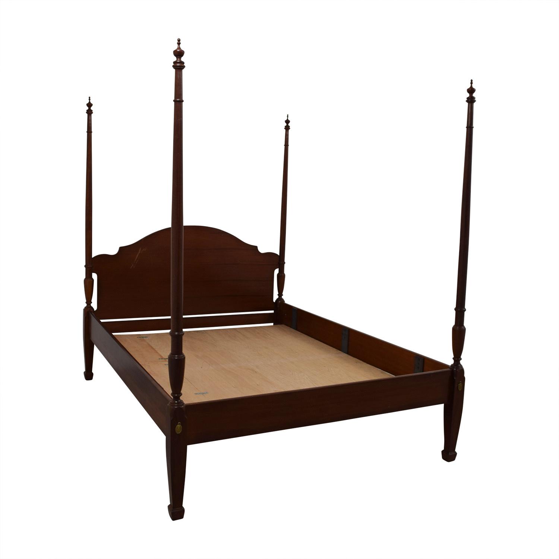 43 OFF Ethan Allen Ethan Allen Queen Four Poster Platform Bed Beds