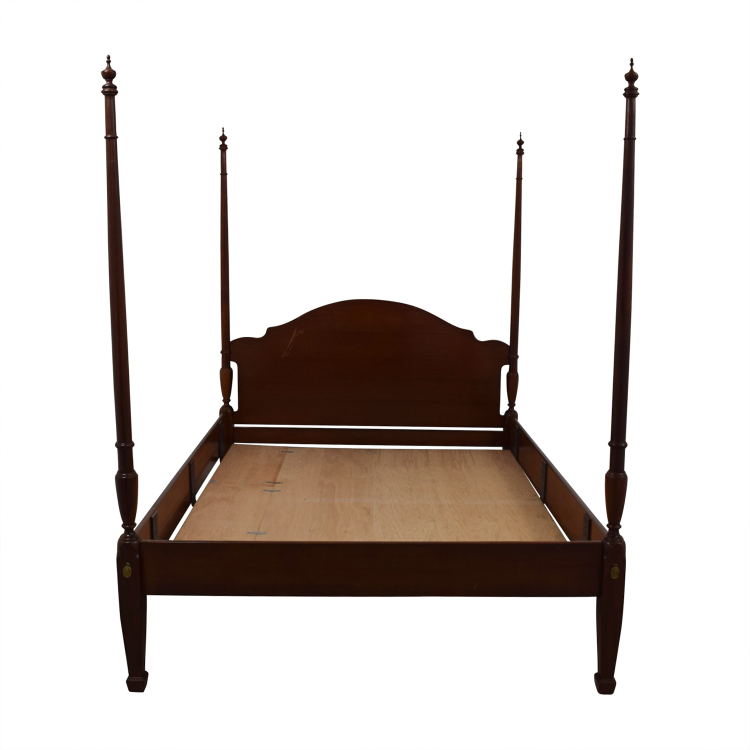 Ethan Allen Ethan Allen Queen Four Poster Platform Bed used