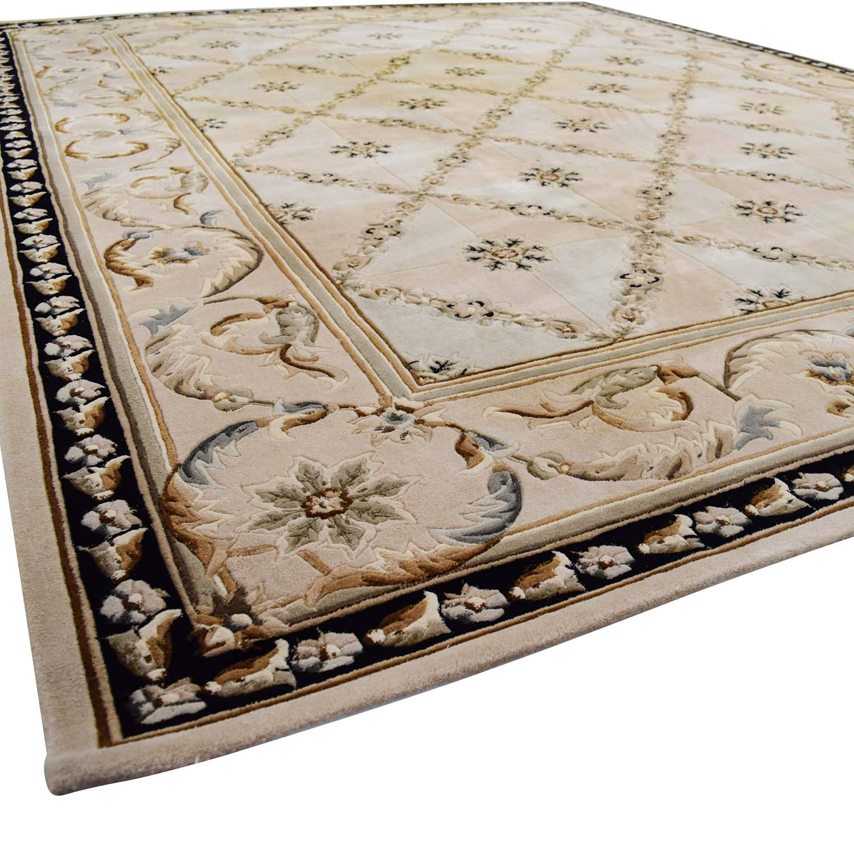 90 off beige decorative 8 x 11 rug decor for Decor 140 rugs