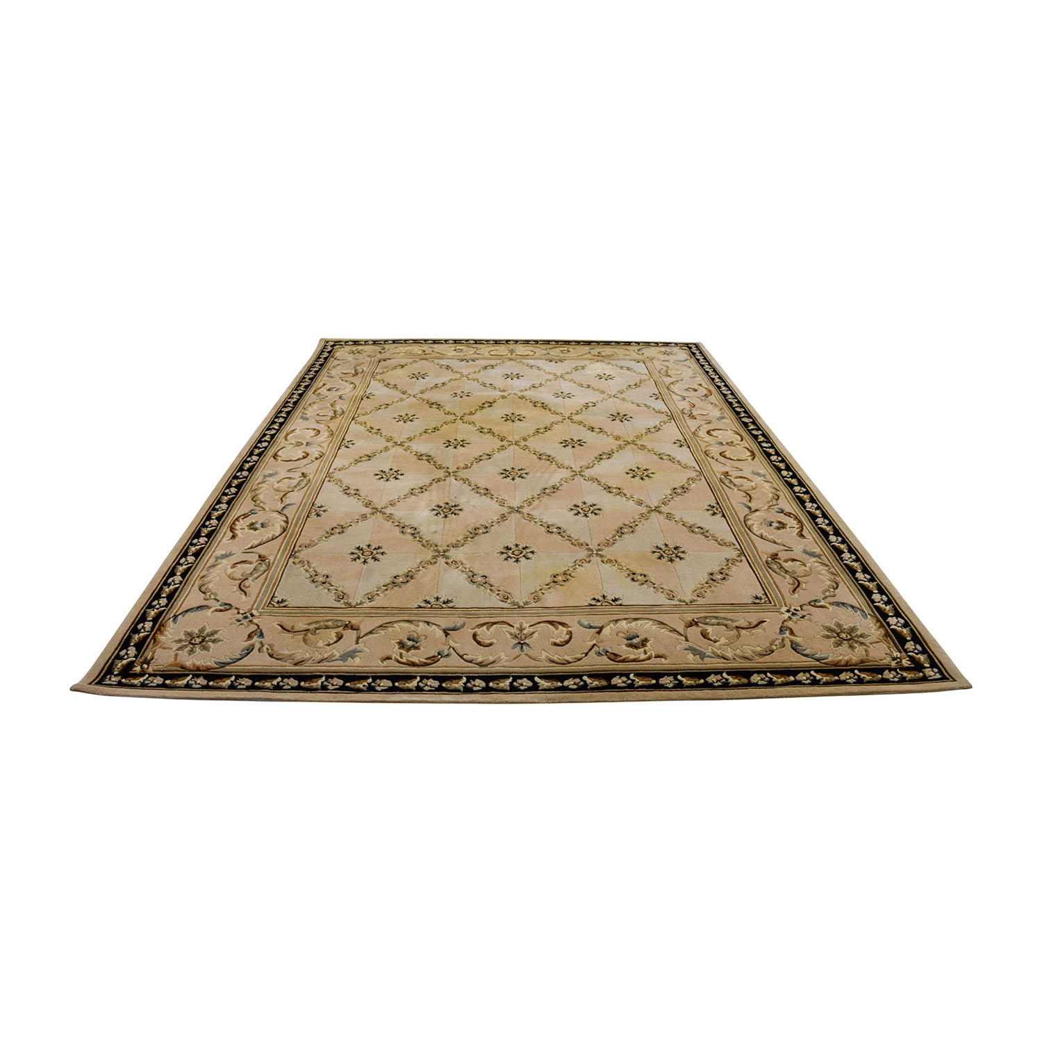 buy Beige Decorative 8 x 11 Rug