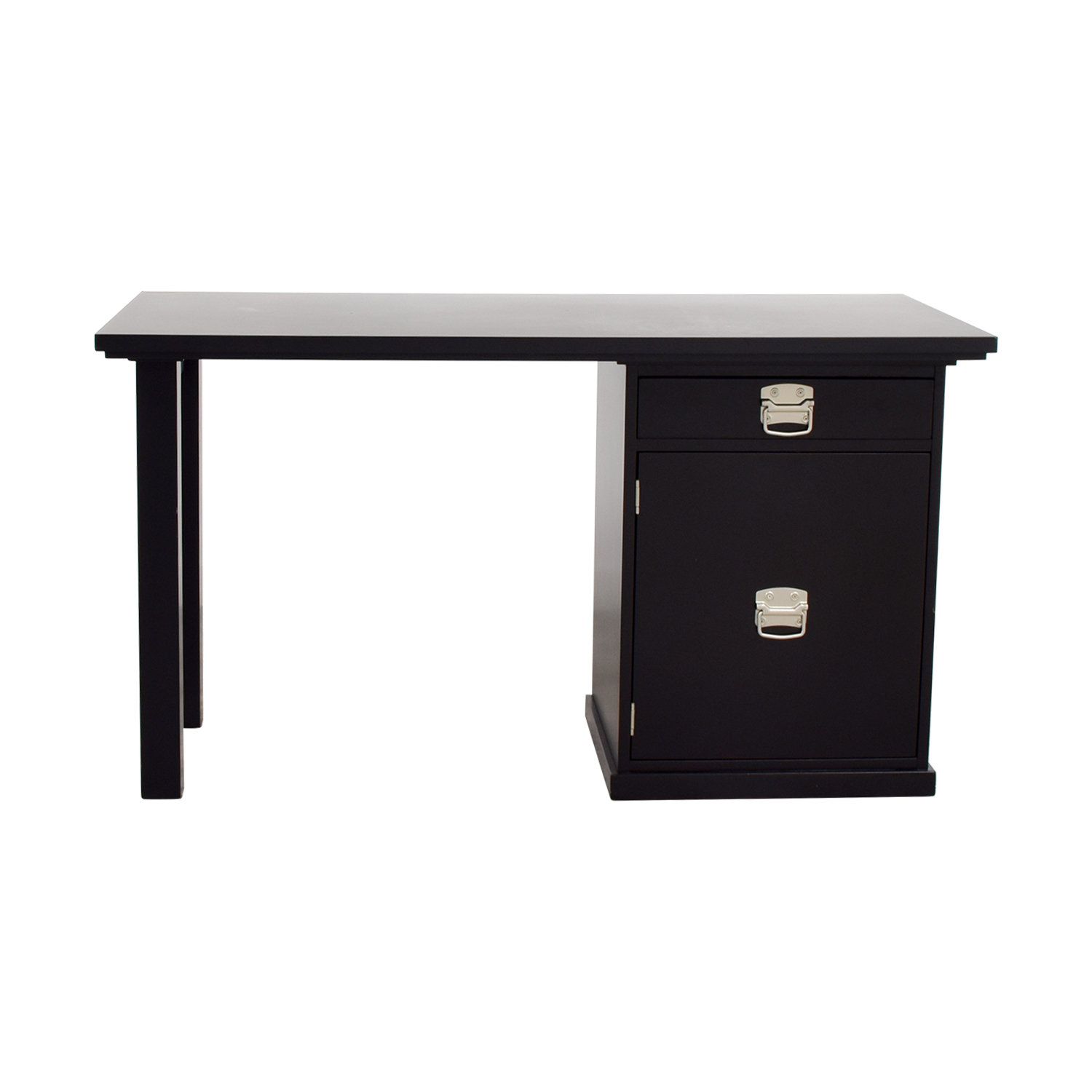 buy Pottery Barn Desk with File Cabinet Pottery Barn
