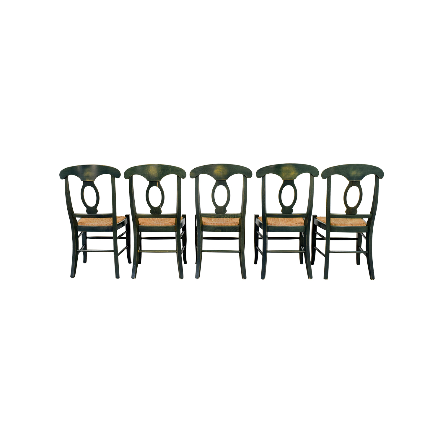 buy Pottery Barn Rush Seat Chairs Pottery Barn Dining Chairs