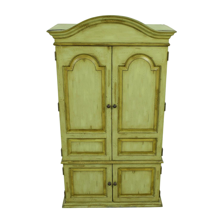 shop Platypus Green Armoire Platypus Wardrobes & Armoires