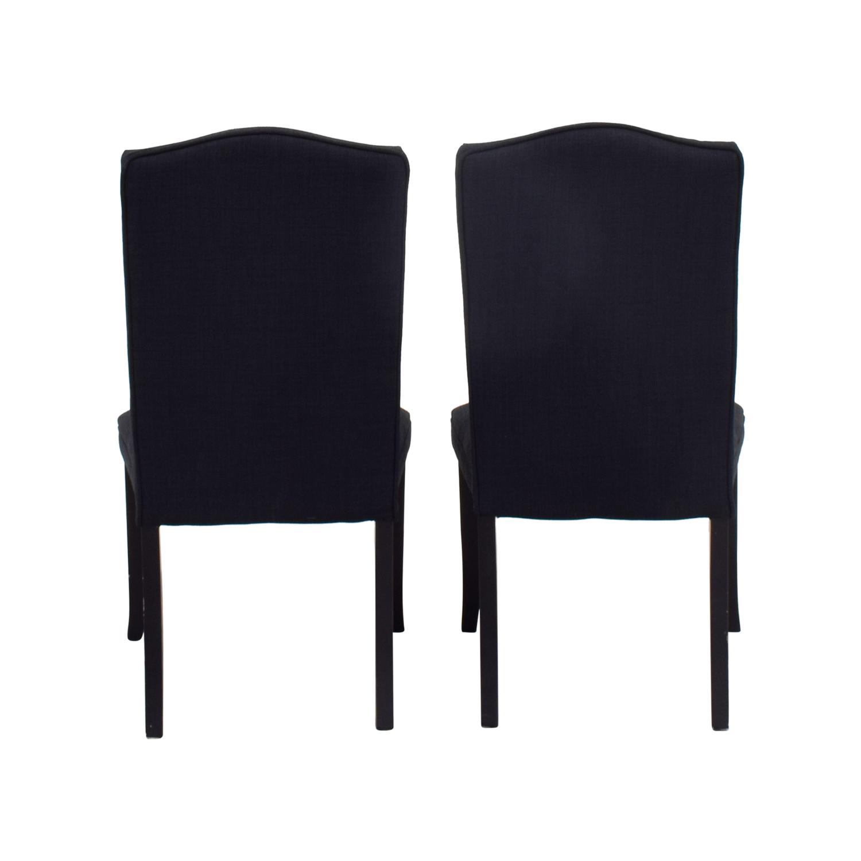 Cortesi Home Cortesi Home Linen Upholstered Nailhead Chairs on sale