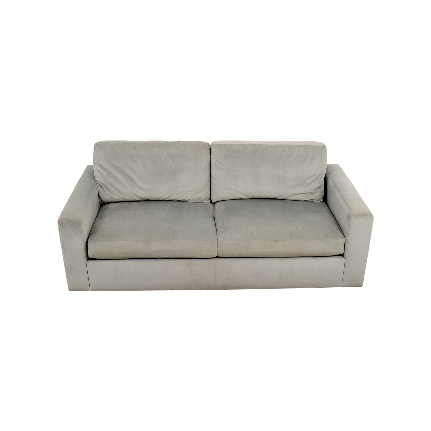 Room & Board Room & Board Pearl Grey Two-Cushion Sofa on sale